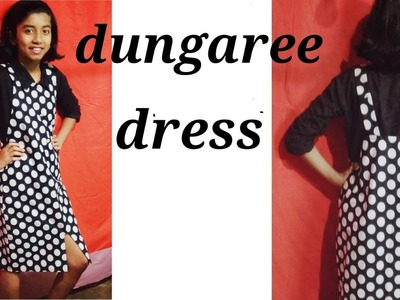 Dungaree cutting and stitching.how to cut and stitch dungaree