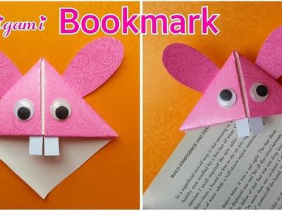 Easy Paper Bookmark    Origami Bookmark    Rabbit    The Blue Sea Art