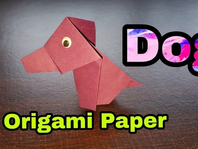How to Make a Dog from Origami Paper | How to make a paper Dog