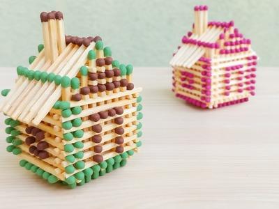 How To Make a HOUSE with matchsticks | without glue