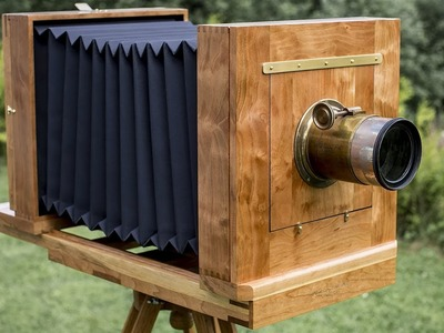 How to make a wooden camera, and how to use it. (re-cut)