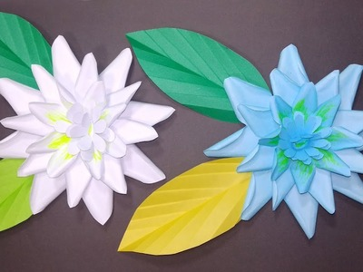 How to Make Beautiful Wall Decoration Gardenia Flower | Wall Decor | Jarine's Crafty Creation