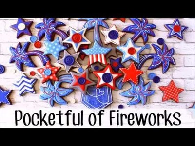 How to Make Decorated 4th of July Fireworks Cookies