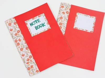 How to Make Mini Notebook Diary (Back to School) | DIY Easy Notebooks for Back to School Supplies