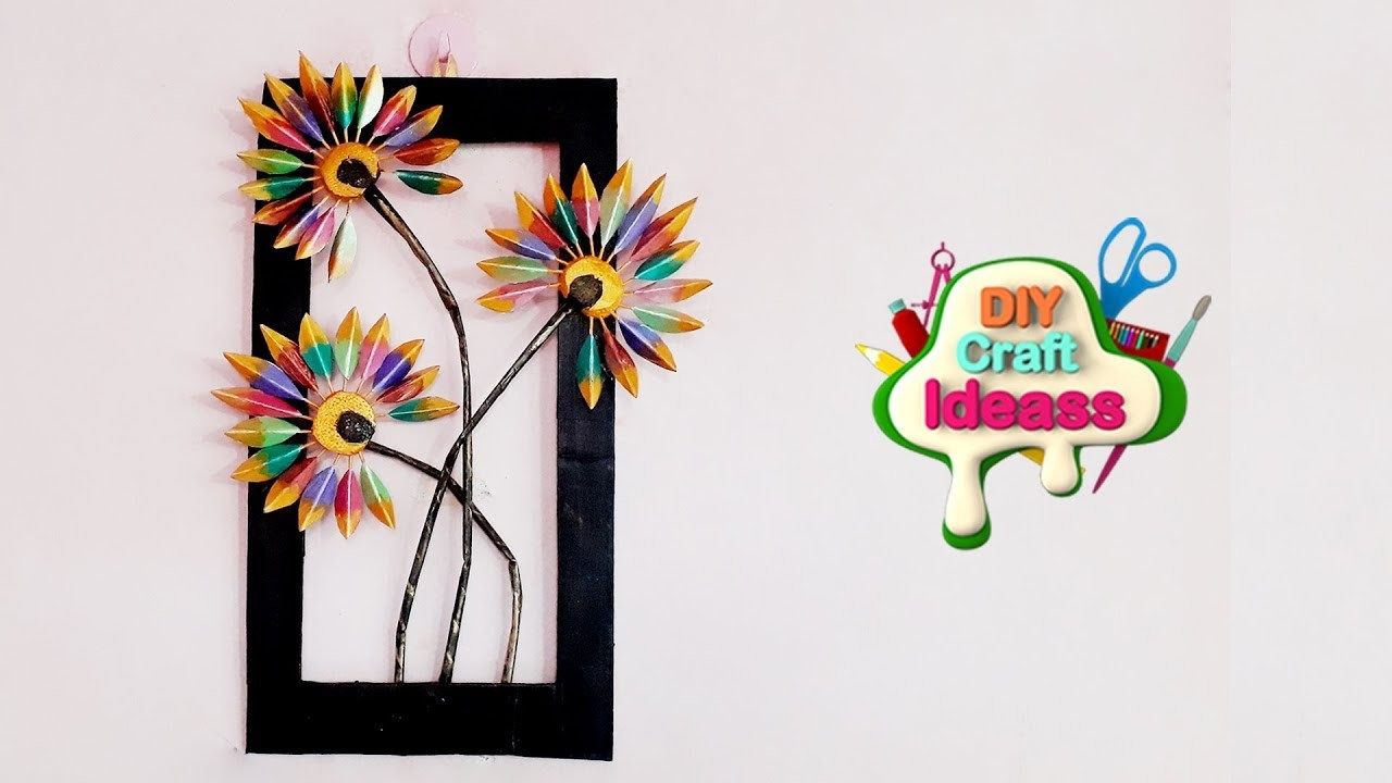 How To Resuse Old Cardboard For Wall Decoration
