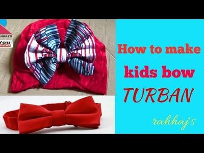 HOW TO SEW TURBAN CAP   Yadda ake dinkin hula turban 3