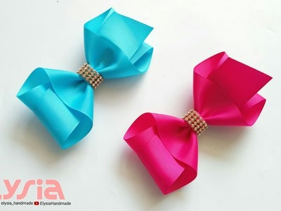 NEW ???? laço Boutique Pontas Grosgrain Ribbon 38 mm ???? DIY by Elysia Handmade