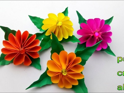 Simple Paper Flowers Easy To Make Beutiful Origami Paper Flowers