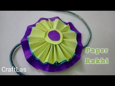 Paper Rakhi For Kids School Competition | CraftLas