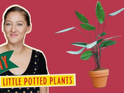 The Mouse Mansion DIY's - Miniature Potted Plants