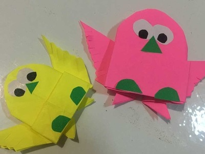 Paper Green Paper Puffy Heart Origami Paper Art Project For