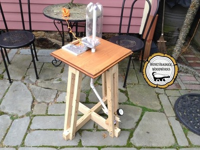 Woodworking:  DIY Bottle Rocket Launcher. How-To Part 1