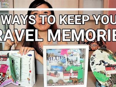 3 ways to display your Travel Memories | IreviewUread DIY