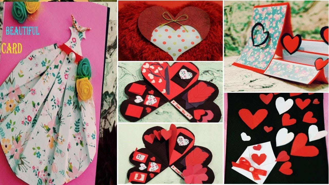 5 Easy Friendship Cards Handmade Greeting Cards Friendship Day Cards