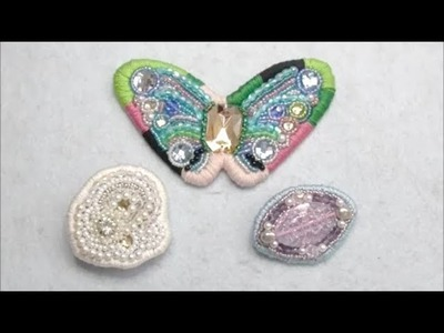 【Beads accessory】How to make a brooch!