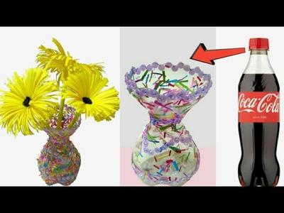 Make Awesome Plastic Bottle Flower Vase Michaelieclark