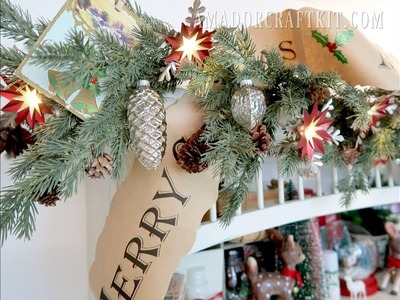 Christmas In July - Curating Christmas Craft room tour