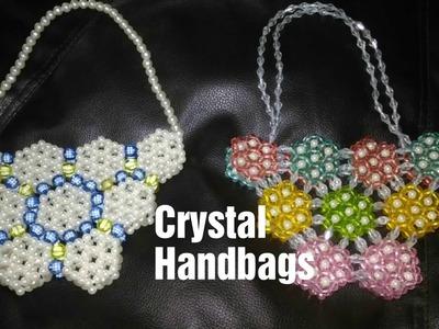 Crystal handbags.Crystal beads bags  |  Nomi.Namita's crafts