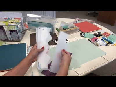Designing Beth's 1st Kiwi Lane Scrapbooking Layout (Video 1 of 2)
