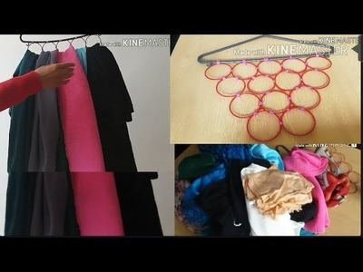 DIY Scarf Hanger Quick and Easy | How To Make Scarf Holder
