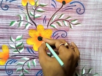 #Fabricpainting designs   Fabric painting   Fabric Painting Techniques   fabric painting tutorial