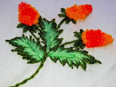French Knot | Hand Embroidery Designs.
