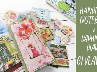 Giveaway!! | Handmade TN Insert & Daphne's Diary | Opened Worldwide | Notebook Giveaway  (Sub FRA)