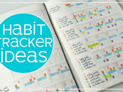 Habit Tracker Ideas | Easy Habit Tracking for Beginners 2018