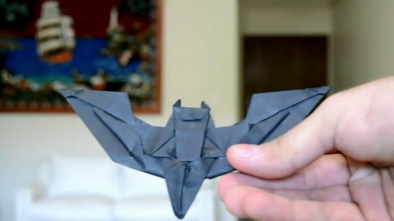 How Can Make Origami Batman Batch (Origami Game)