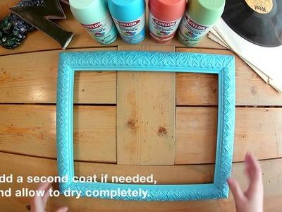 How-To: Make a Custom DIY Framed Corkboard