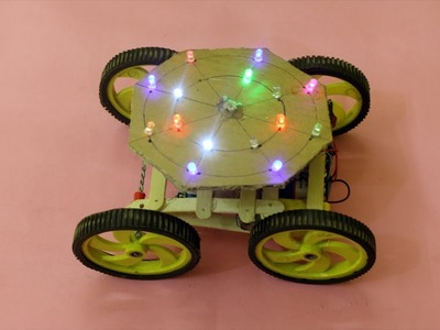 How To Make Disco Light Car - DIY Amazing Car At home | DIY Electric Car