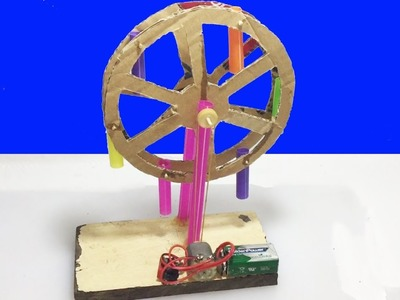 How to Make Ferris Wheel. Roller For Kids DIY at Home