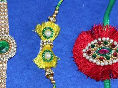 How to make thread Rakhi using Gold Chain at home in 5 minutes for rakshabandhan | Handmade Rakhi