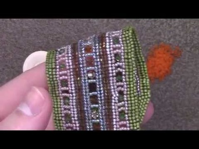 Learn the Flat Herringbone Stitch - A Beginner Beading Tutorial by Aura Crystals