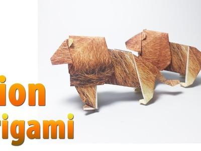 Lion Origami tutorial