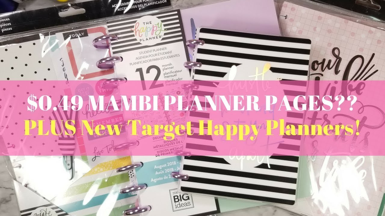 MICHAELS MAMBI 90% OFF CLEARANCE HAUL + NEW TARGET HAPPY