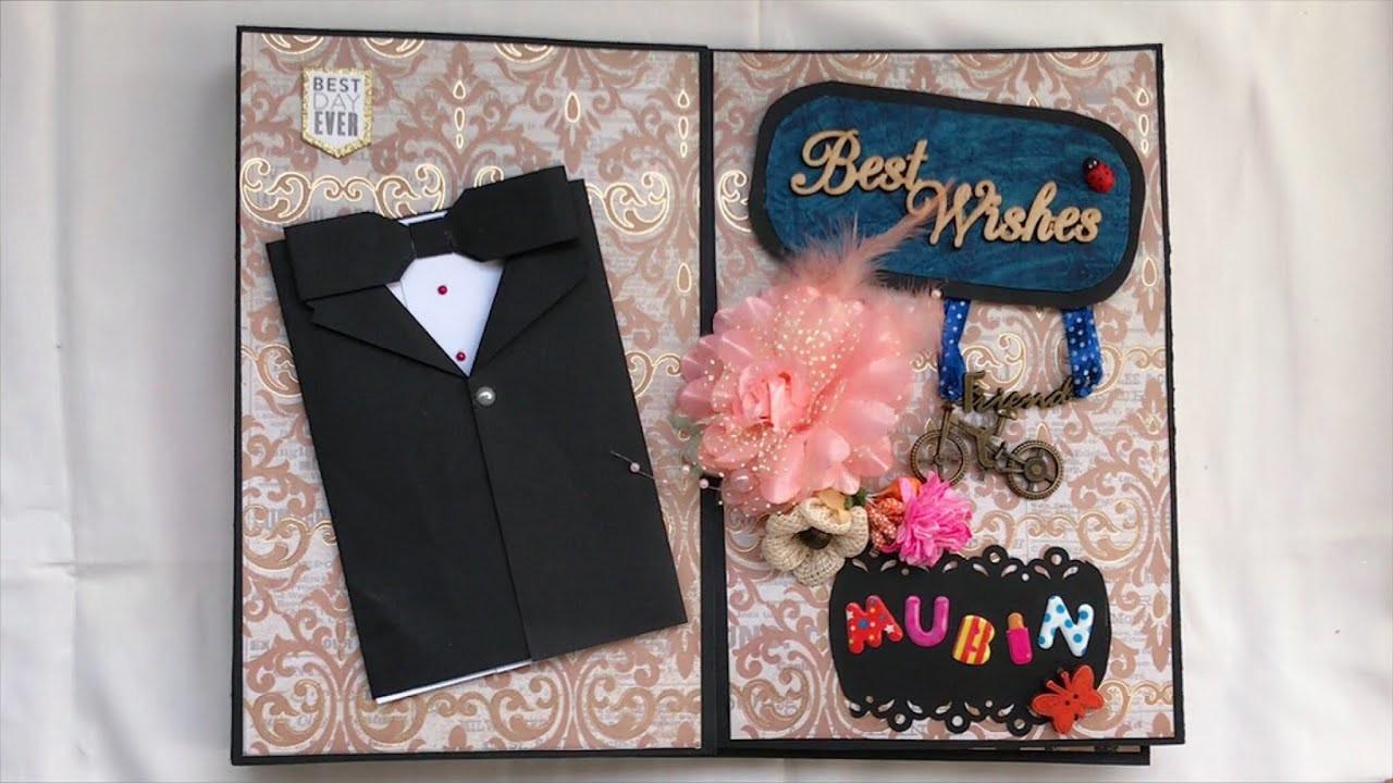 Photo Album Birthday Gift For Best Friend Gate Fold Photo Album