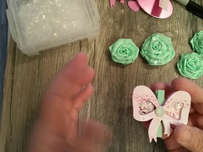 Tissue paper Roses  (process video )