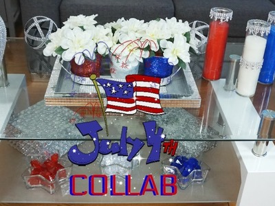 4TH OF JULY BAR CART COLLAB HOSTED BY HOME, BODY WITH FORLISA