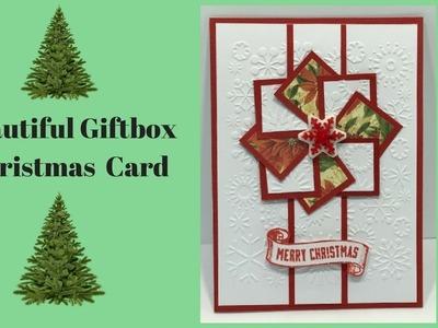 """Christmas """"Box"""" Card"""