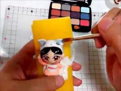 Clay Tutorial 黏土教學 ♥ Q版公仔 Clay Tutorial q Version Dolls Clay teaching