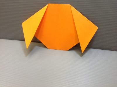 Daily Origami: 005 - Dog