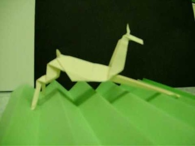 Darren challenge  to make a origami bat and a deer
