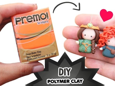 DIY - MERIDA AND QUEEN ELINOR CHIBI TUTORIAL - Mother's Day Gift Idea