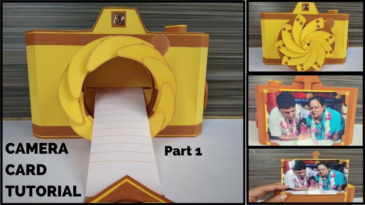 Diy Unique Instax Camera Card Tutorial Part 1 Handmade Gift Ideas