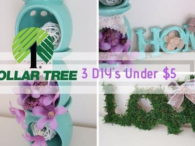 DOLLAR TREE DIY | 3 DOLLAR TREE DIYS UNDER $5 EACH | BUDGET FRIENDLY DECOR