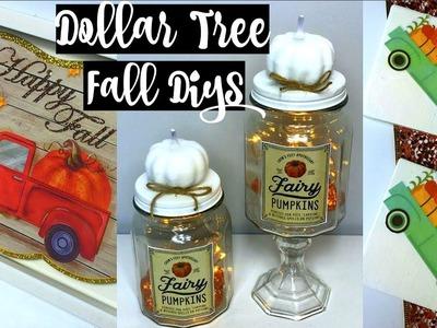 DOLLAR TREE FALL DECOR DIYs | FUN & EASY IDEAS | CHIC ON THE CHEAP