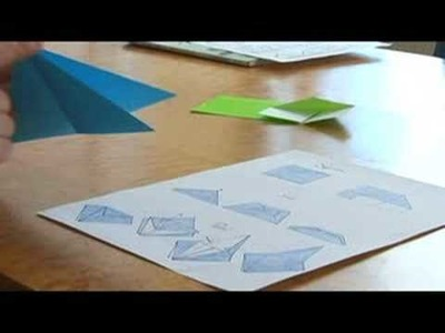 Easy Origami Folding Instructions : The Squash & The Sink Origami Folds