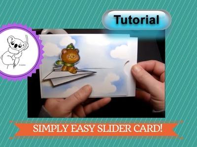 Easy Slider Card. Simple Slider card TUTORIAL