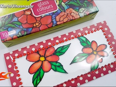 Glass Painting Crafts | Mother's Day. Teacher's Day Greeting Card | JK Arts 1380